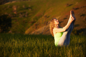 Karen Gunter practices & teaches yoga in the beautiful Adelaide hills suburb of Belair, Adelaide, South Australia