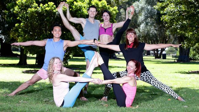 Yoga Garage at YogAdelaide teaching yoga to the Adelaide community